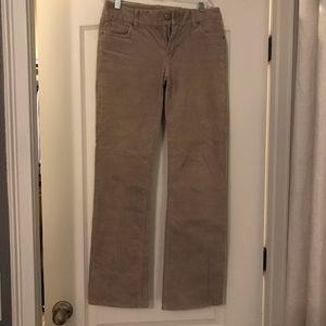 J Crew cordoroy bootcut pants